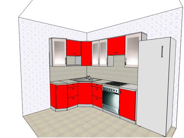 Как сделать макет своей кухни