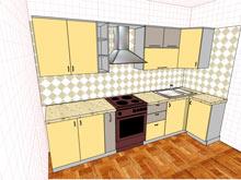Макет кухни
